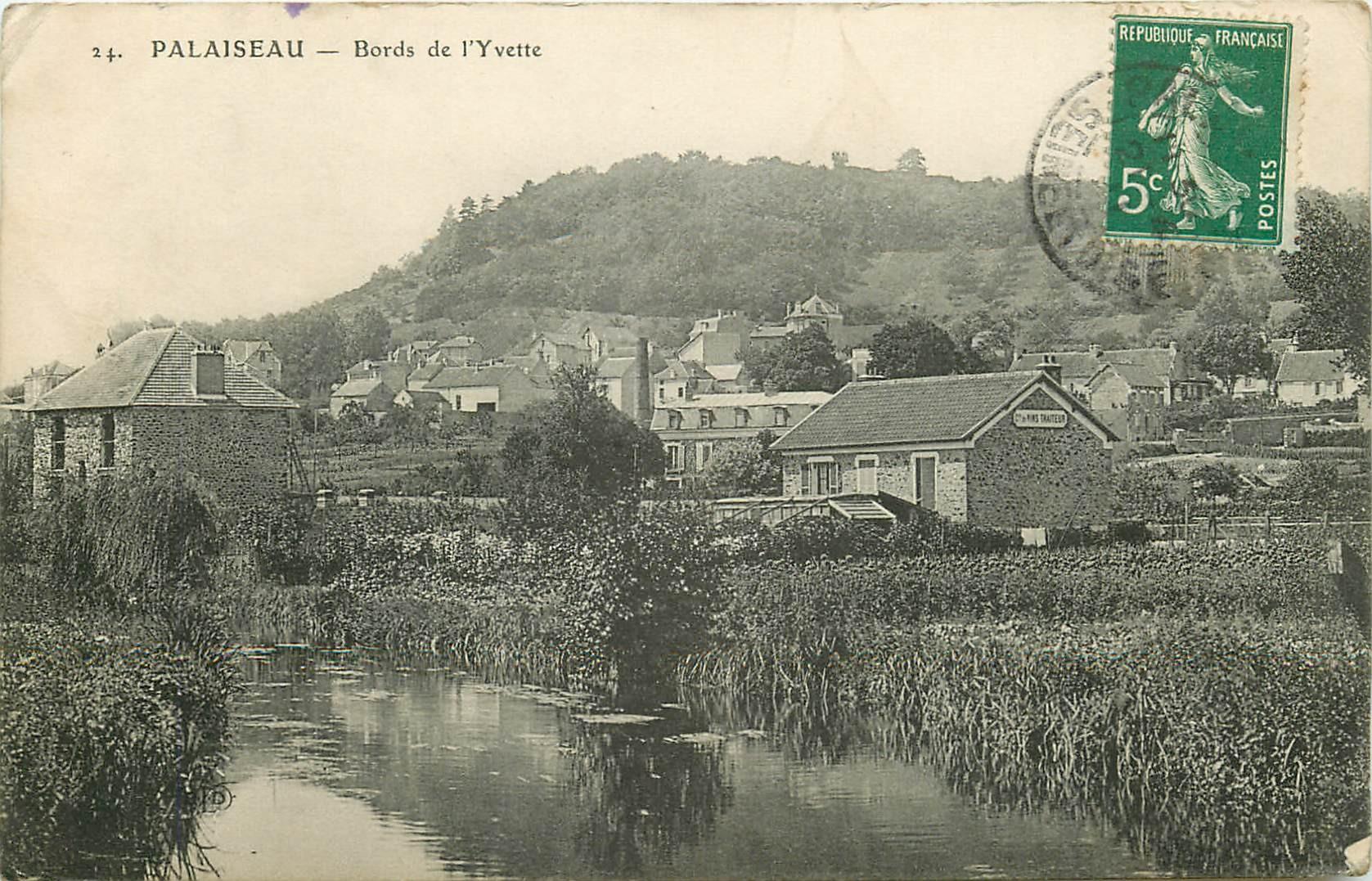 91 PALAISEAU. Bords de l'Yvette avec Traiteur et vins route de Paris