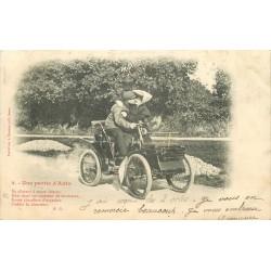 TRANSPORTS. Une partie d'Auto par Bergeret 1904