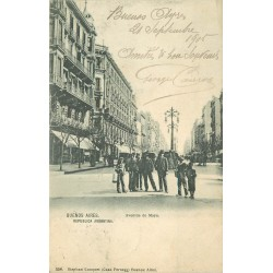 BUENOS AIRES. Avenida de Mayo 1905