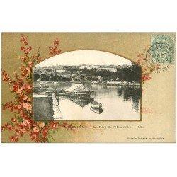 carte postale ancienne 16 ANGOULEME. Port de l'Houmeau 1907. Collection Nouvelles Galeries