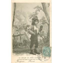 73 Le Départ du Petit Savoyard en six tableaux 1904