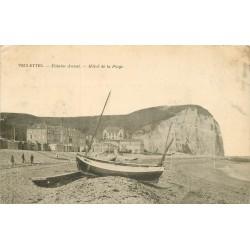 76 VEULETTES. Hôtel de la Plage et Falaise d'Aval 1905