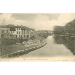 11 CASTELNAUDARY. Port du Canal 1905