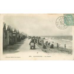 14 LANGRUNE. La Digue 1905