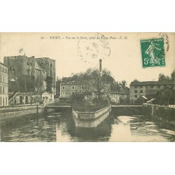 79 NIORT. Le Vieux Pont sur la Sèvre 1909