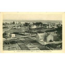 22 SAINT-JACUT-DE-LA-MER. Vue sur la Ville 1949