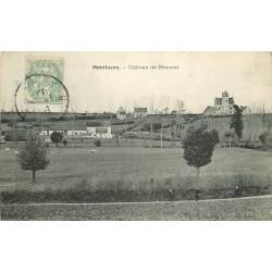 03 MONTLUCON. Château de Bienassi avec vaches près grande Ferme