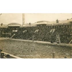 "PARIS 20 Piscine G. Vallerey dîte des Tourelles 148 Av Gambetta "" Water Polo "" 1924 Jeux Olympiques"