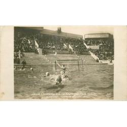 PARIS 20 Piscine G. Vallerey des Tourelles 148 Av Gambetta Water Polo 1924 Jeux Olympiques Hongrie Angleterre