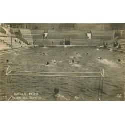 PARIS 20 Piscine G. Vallerey des Tourelles 148 Av Gambetta Water Polo 1924 Jeux Olympiques