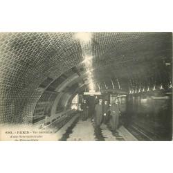 PARIS METROPOLITAIN. Gare souterraine