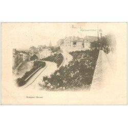 carte postale ancienne 16 ANGOULEME. Superbe, Rempart Desaix. Carte Pionnière 1901