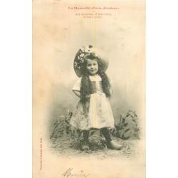 BERGERET. La Mascotte Porte-Bonheur série de 5 cartes postales 1904