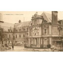 2 x Cpa 18 VIERZON. Hôtel de Ville et Eglise sur Vallée du Cher