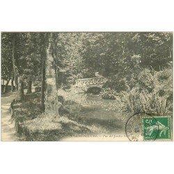carte postale ancienne 16 ANGOULEME. Vue du Jardin Vert 1913