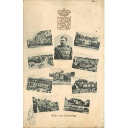 Gruss aus LUXEMBOURG avec son Roi 1911