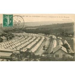 23 CAMP DE LA COURTINE. Campement de la Brigade 1909