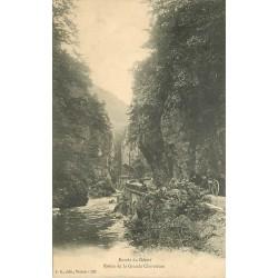 38 ROUTE DE LA GRANDE CHARTREUSE. Entrée du désert 1907