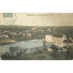 28 CHATEAUDUN. Les Grands Moulins 1907