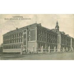 LUXEMBOURG. Ecole Industrielle et Commerciale 1910
