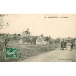 60 LABRUYERE. Attelage sur la Route à la sortie du Village 1909