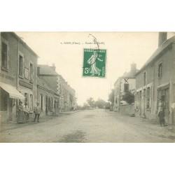 18 JARS. Boucherie Route de Vailly vers 1909