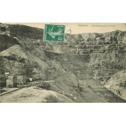 12 CRANSAC. Découverte de la Pélonie vers 1910