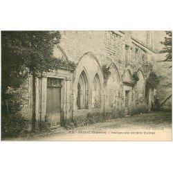 carte postale ancienne 16 BASSAC. Anciens Cloîtres