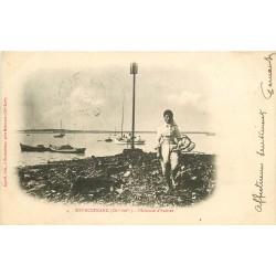 17 BOURCEFRANC. Pêcheuse d'Huîtres 1904