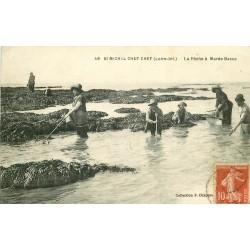 44 SAINT-MICHEL CHEF CHEF. La Pêche aux Crustacés à Marée Basse 1919