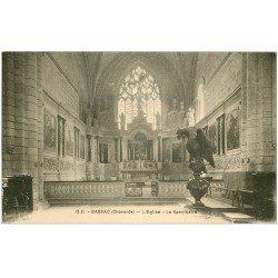 carte postale ancienne 16 BASSAC. Eglise le Sanctuaire