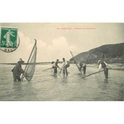 50 CAROLLES. Pêcheurs de Crevettes 1911
