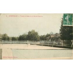 60 COMPIEGNE. Tennis et Châlet de la Société Sportive 1908
