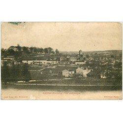 carte postale ancienne 16 BLANZAC. Vue panoramique 1907. Etat moyen...