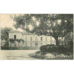 carte postale ancienne 16 BREUTY. Entrée principale 1907