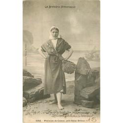 22 SAINT-BRIEUC. Pêcheuse de Cesson Cresson vers 1900