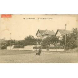77 CHARTRETTES. Quartier Roche Bouillon 1932
