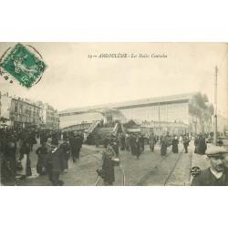 16 ANGOULEME. Les Halles Centrales vers 1923