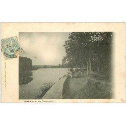 carte postale ancienne 16 CHABANAIS. Les Promenades 1908