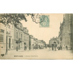 03 MONTLUCON. Avenue Jules Ferry 1906