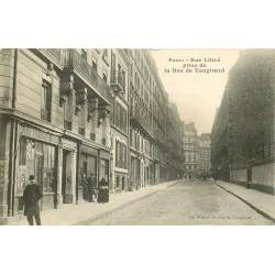 """PARIS 06 . Magasin de """" Bois et Charbons """" Rue Littré"""