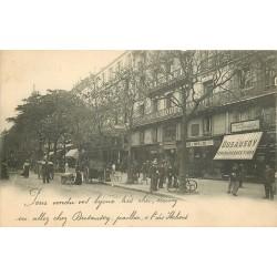 PARIS 02. Joaillier Dusausoy au 4 Boulevard des Italiens 1903 carte publicitaire...