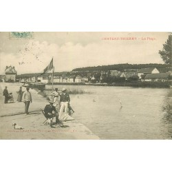 02 CHATEAU-THIERRY. La Plage 1902
