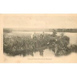 62 VALLEE DE L'AUTHIE. Tourbière de Maintenay vers 1900
