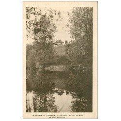 carte postale ancienne 16 CHENOMMET. Villa Bellevue Bords de la Charente