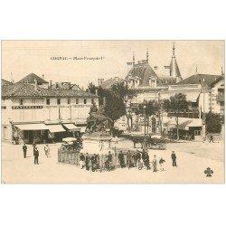 carte postale ancienne 16 COGNAC. Boucherie Parisienne Place François Ier