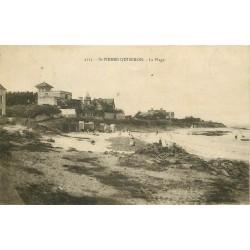 56 SAINT-PIERRE--QUIBERON. La Plage 1922