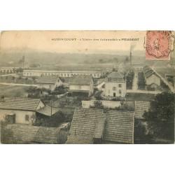 25 AUDINCOURT. Usine des Automobiles Peugeot 1906
