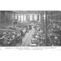 PARIS 15. Compagnie éclairage Fabrication des Compteurs boulevard de Vaugirad Atelier de Montage