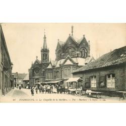 59 TOURCOING. Chapelle de la Marlière et sa brocante